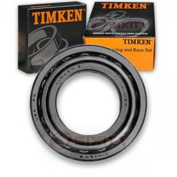 Timken Rear Outer Wheel Bearing & Race Set for 1973-1974 Chevrolet K20 Picku iv