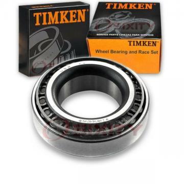 Timken Front Inner Wheel Bearing & Race Set for 1967 Mercury Marquis  up
