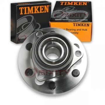 Timken Front Wheel Bearing & Hub Assembly for 1992-1994 GMC K2500 Suburban fi