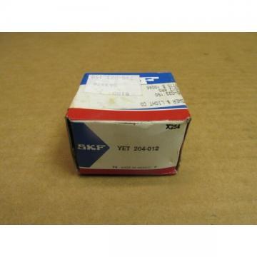 """SKF YET 204-012 BEARING INSERT YET204012 3/4"""" ID"""